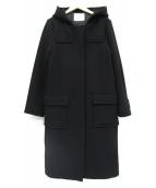 MAISON DE REEFUR(メゾンドリーファー)の古着「メルトンコート」|ブラック