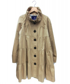 BURBERRY BLUE LABEL(バーバリーブルーレーベル)の古着「スプリングコート」|ベージュ