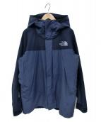 ()の古着「マウンテンジャケット」 ブルー×ブラック