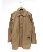RUDE GALLERY(ルードギャラリ)の古着「ステンカラーコート」|ベージュ