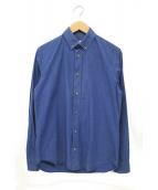 Maison Margiela(メゾンマルジェラ)の古着「ボタンダウンシャツ」|ブルー