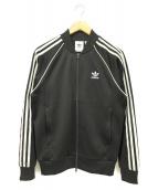 adidas originals(アディダスオリジナルス)の古着「ジップアップジャケット」|ブラック