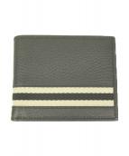 GUCCI(グッチ)の古着「2つ折り財布」|ブラック×ホワイト