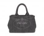 PRADA(プラダ)の古着「トートバッグ」|グレー