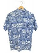 reyn spooner(レインスプーナー)の古着「アロハシャツ」|ブルー