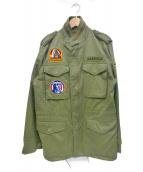 Hysteric Glamour(ヒステリックグラマー)の古着「M65ジャケット」 カーキ