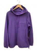 Pilgrim(ピルグリム)の古着「フリースジャケット」|パープル