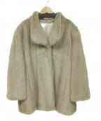 SAGA MINK(サガミンク)の古着「ミンクコート」|グレー