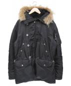 AVIREX(アビレックス)の古着「ジャケット」|ブラック