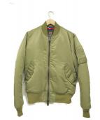 ALPHA×TMT(アルファ×ティーエムティー)の古着「MA-1ジャケット」|オリーブ