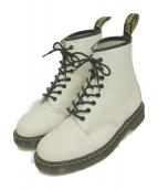 ()の古着「8ホールブーツ」|ホワイト
