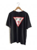 GUESS(ゲス)の古着「Tシャツ」|ブラック
