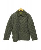 Barbour(バブアー)の古着「キルティングジャケット」|グレー