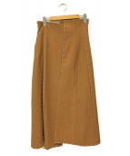 AMERI(アメリヴィンテージ)の古着「スカート」|ブラウン