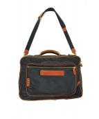 Felisi(フェリージ)の古着「3WAYビジネスバッグ」|ネイビー×ブラウン