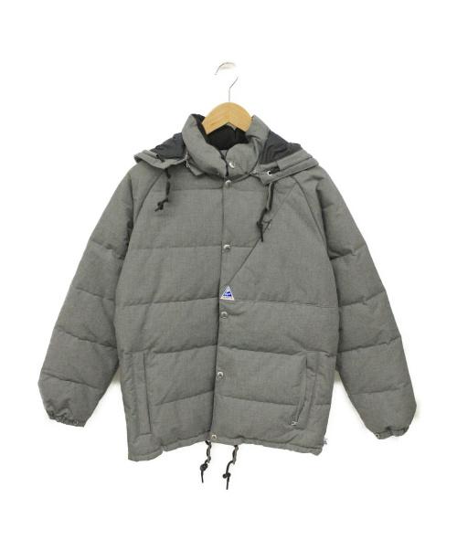 CAPE HEIGHTS(ケープハイツ)CAPE HEIGHTS (ケープハイツ) ダウンジャケット グレー サイズ:XS 冬物の古着・服飾アイテム