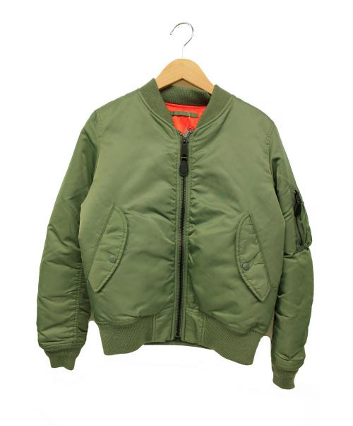 AVIREX(アヴィレックス)AVIREX (アヴィレックス) MA-1ジャケット オリーブ サイズ:M 秋冬物の古着・服飾アイテム