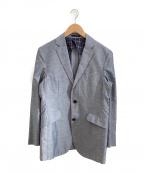 BLACK LABEL CRESTBRIDGE(ブラックレーベルクレストブリッジ)の古着「テーラードジャケット」|ブルー