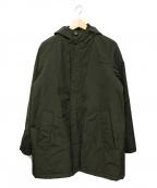 Serge Blanco(セルジュブランコ)の古着「インサレーションコート」|ブラック