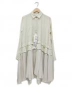 REKISAMI(レキサミ)の古着「シャツワンピース」|ベージュ