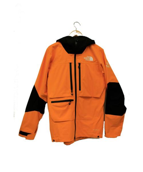 THE NORTH FACE(ザノースフェイス)THE NORTH FACE (ザノースフェイス) フューチャーライトジャケット ノックアウトオレンジ×ブラック サイズ:MENS XSの古着・服飾アイテム