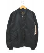 ALPHA(アルファ)の古着「MA-1ジャケット」|ネイビー