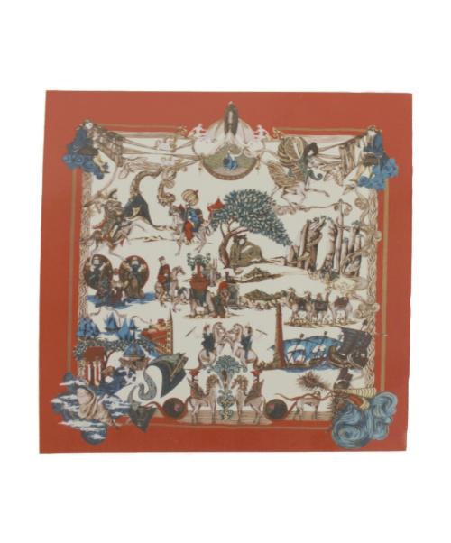 HERMES(エルメス)HERMES (エルメス) スカーフ レッドの古着・服飾アイテム