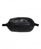 土屋鞄(ツチヤカバン)の古着「ボディーバッグ」 ブラック