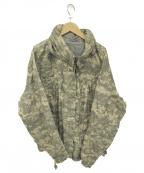 US ARMY()の古着「ミリタリージャケット」|グレー×ブラウン