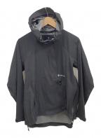 Snow peak(スノーピーク)の古着「プルオーバージャケット」 ブラック
