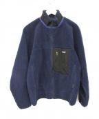 Patagonia()の古着「クラシックレトロXフリースジャケット」|ブルー×ブラック