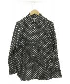 CDG COMME des GARCONS(シーディージーコムデギャルソン)の古着「シャツ」 ブラック