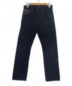 NUDIE JEANS(ヌーディジーンズ)の古着「デニムパンツ」|ブラック