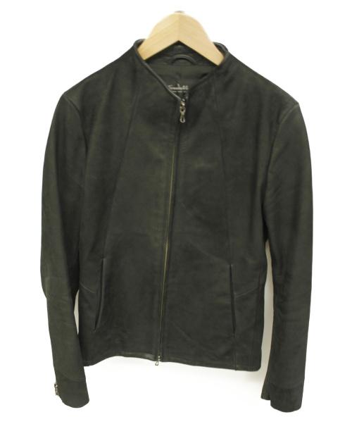 TORNADO MART(トルネードマート)TORNADO MART (トルネードマート) レザージャケット ブラック サイズ:M 春秋物の古着・服飾アイテム