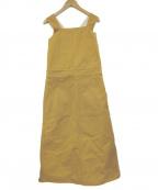 BLAMINK(ブラミンク)の古着「ジャンパースカート」|ベージュ