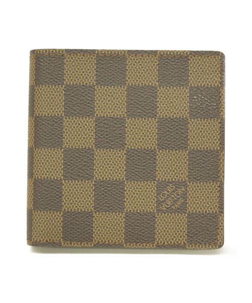 LOUIS VUITTON(ルイ ヴィトン)LOUIS VUITTON (ルイヴィトン) 2つ折り財布 ダミエ N61675 CA1002の古着・服飾アイテム