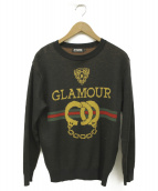 Hysteric Glamour(ヒステリックグラマー)の古着「ニット」|ブラック