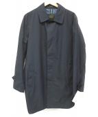 SANYO(サンヨー)の古着「ステンカラーコート」|ネイビー