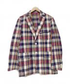 J.PRESS(ジェイプレス)の古着「テーラードジャケット」|レッド