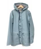 PETIT BATEAU(プチバトー)の古着「ヨットパーカーコート」|ブルー