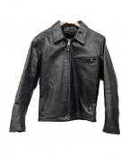 Schott()の古着「ライダースジャケット」 ブラック