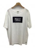 PIGALLE(ピガール)の古着「Tシャツ」 ホワイト