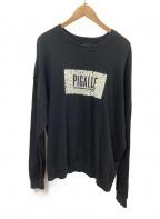PIGALLE(ピガール)の古着「スウェット」 ブラック