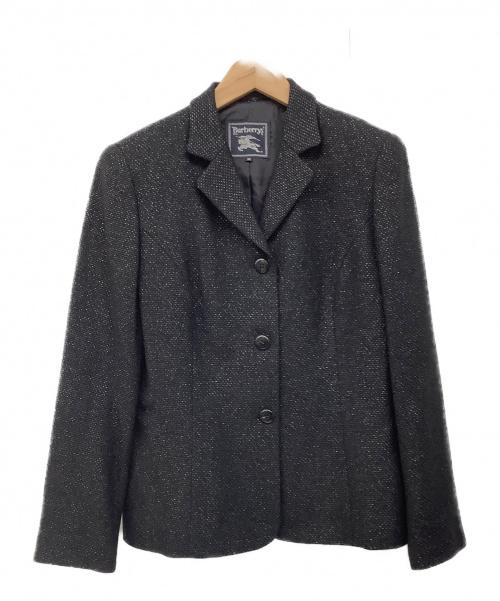 Burberrys(バーバリーズ)Burberrys (バーバリーズ) テーラードジャケット ブラック サイズ:40の古着・服飾アイテム