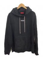 HUGO BOSS(ヒューゴ ボス)の古着「プルオーバーパーカー」|ブラック