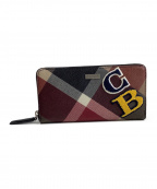 BLACK LABEL CRESTBRIDGE(ブラックレーベルクレストブリッジ)の古着「ラウンドファスナー長財布」|ブラウン