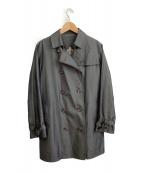 ()の古着「トレンチコート」 グレー