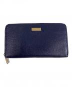 FURLA(フルラ)の古着「ラウンドファスナー財布」|ネイビー