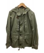 ()の古着「フーデッドジャケット」 オリーブ