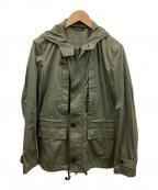PAUL SMITH(ポールスミス)の古着「フーデッドジャケット」|オリーブ